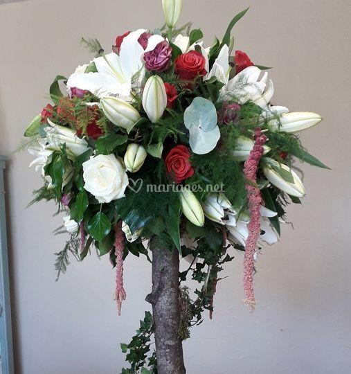 Arbre floral (pièce d'accueil)