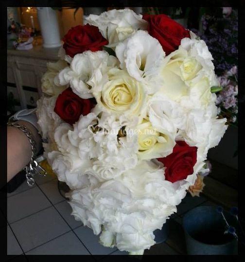 Bouquet goutte, tout en fleurs