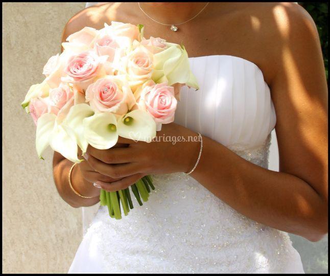 Bouquet tons doux