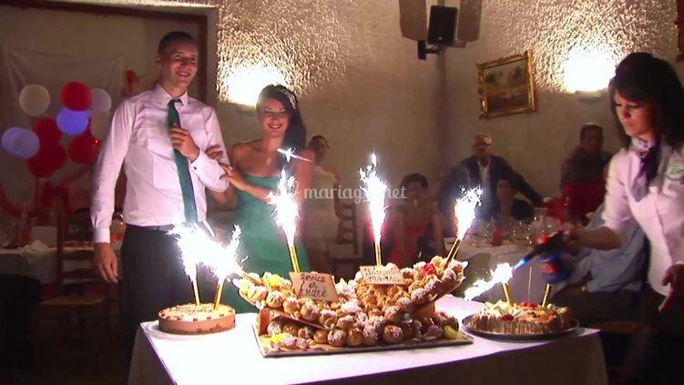 Gâteau des fiancés