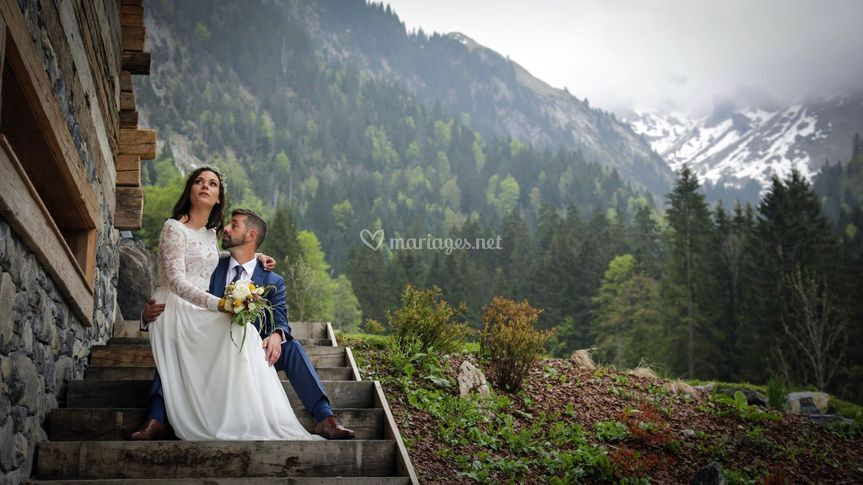 Moutain wedding