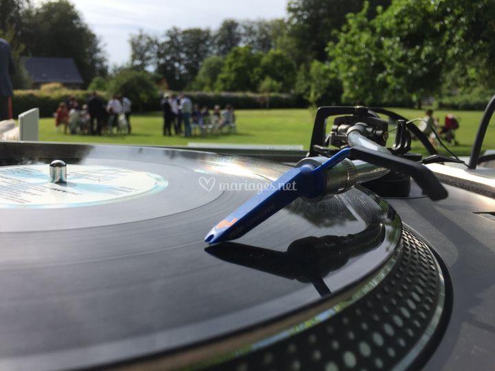 Vinyles en plein air