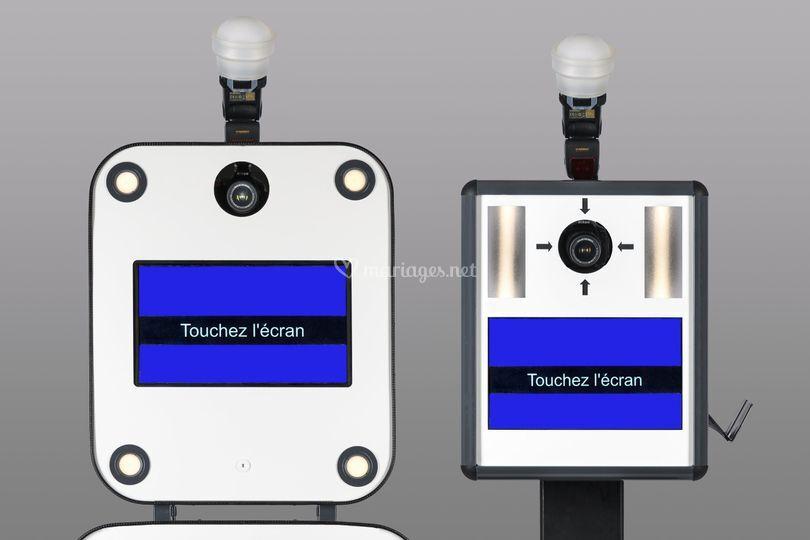 Ecran tactile, flash intégré.