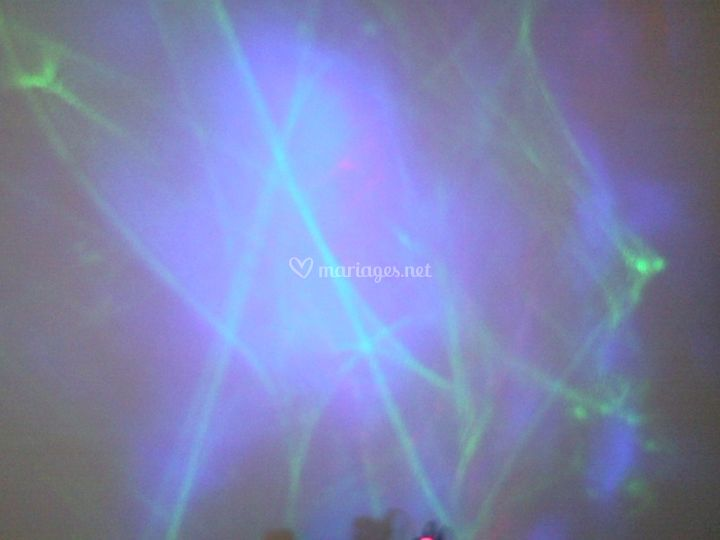 Effet laser polar / Restaurant Monaco