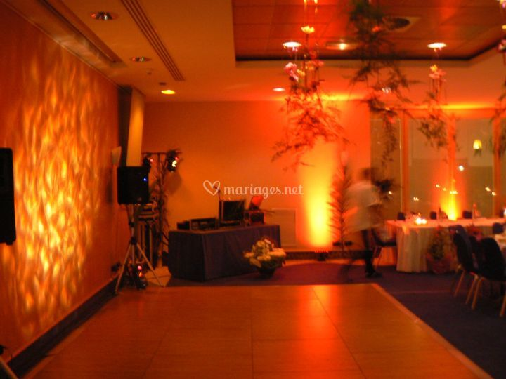 Décoration ambre /Hôtel Radisson Nice