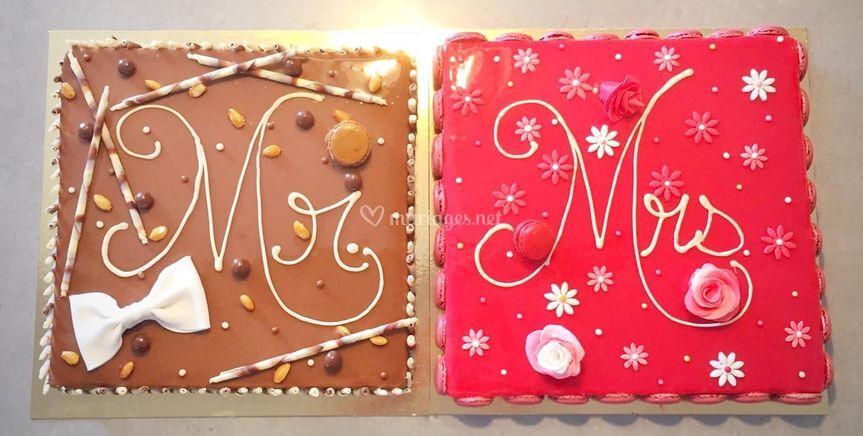 Entremets Mr et Mrs
