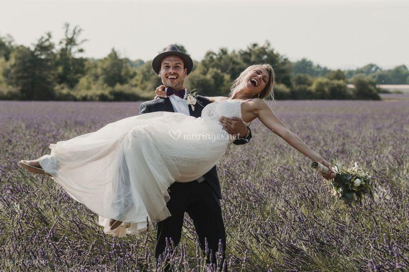 Mariés heureux !