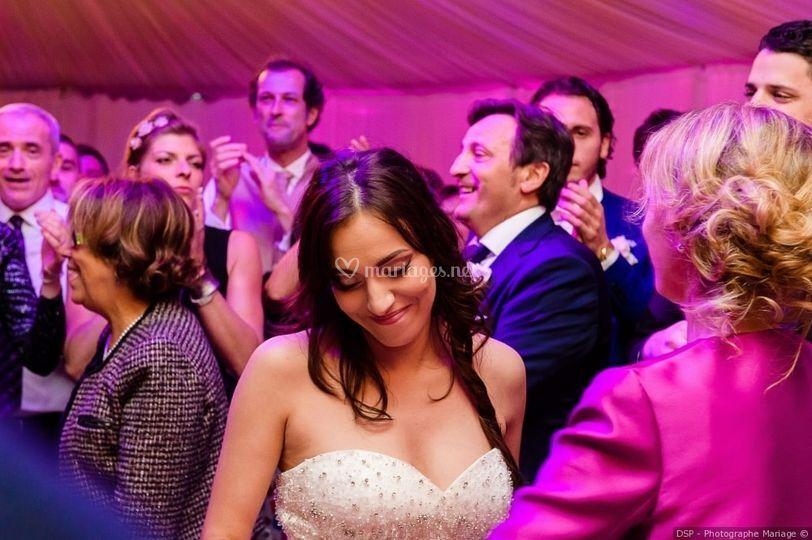 La mariée et Classe Evénement