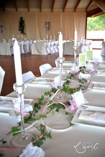 Tables de mariage par LC