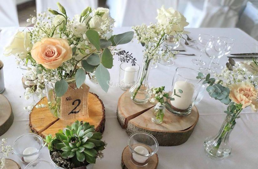 Décors floraux personnalisés