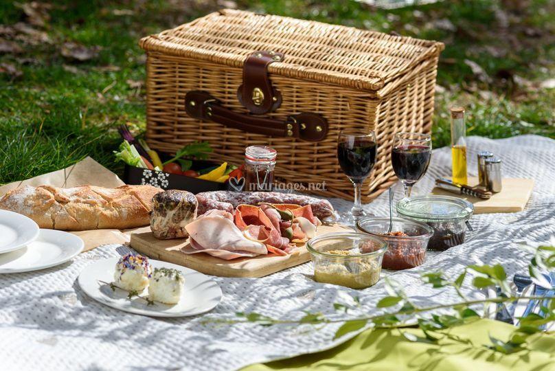 Les déjeuners sur l'herbe