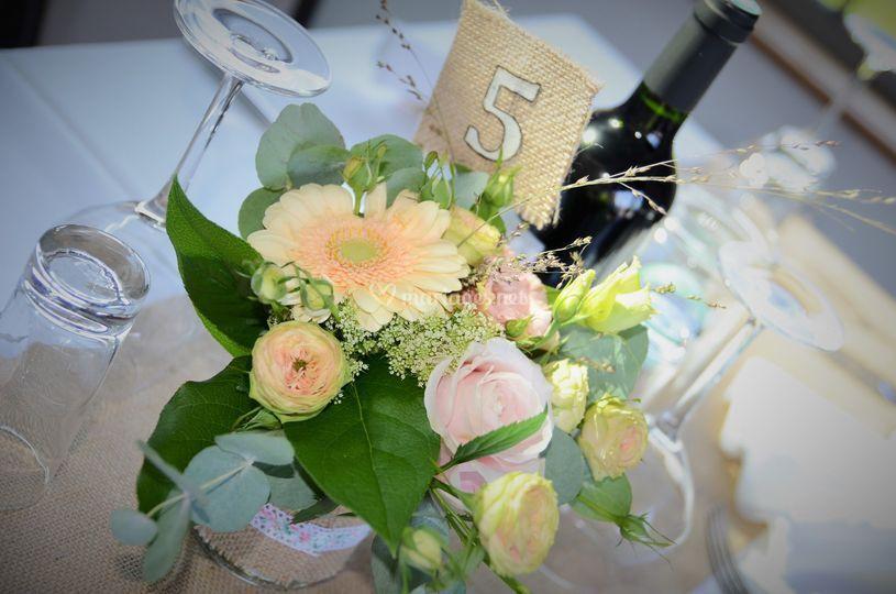 Déco mariage pastel