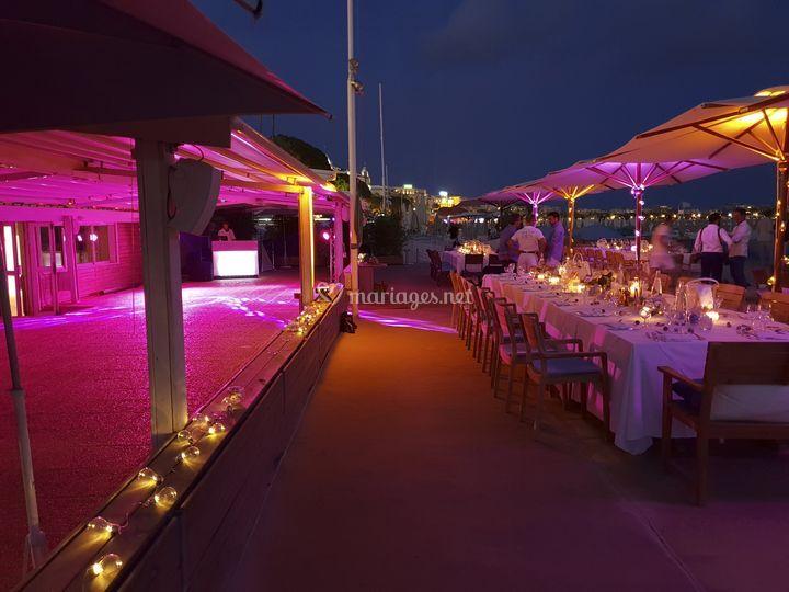 Mariage Plage à Cannes