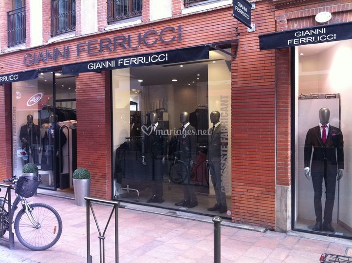 La boutique Gianni Ferrucci