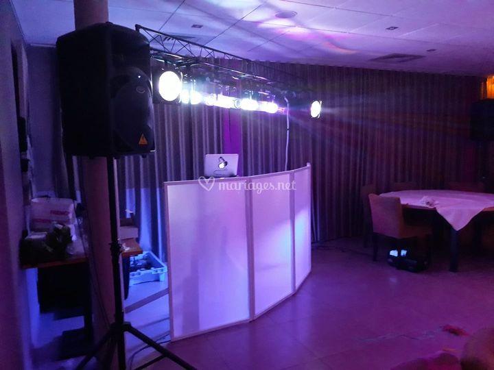 Cabine DJ