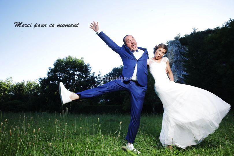 Des mariés !