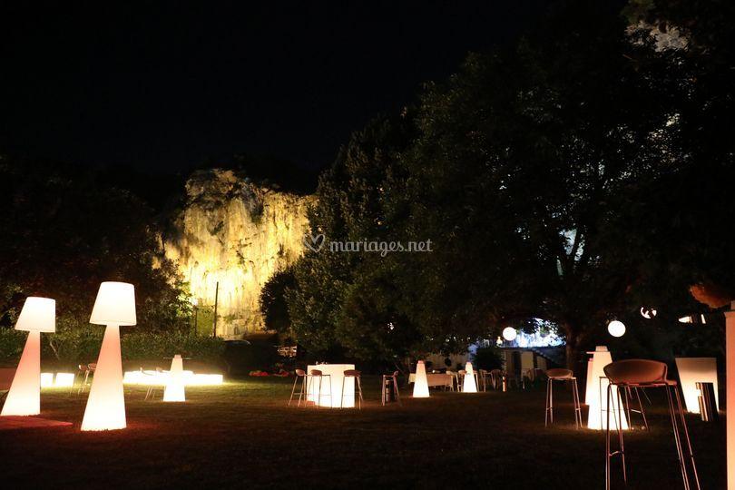 Les jardins illuminés