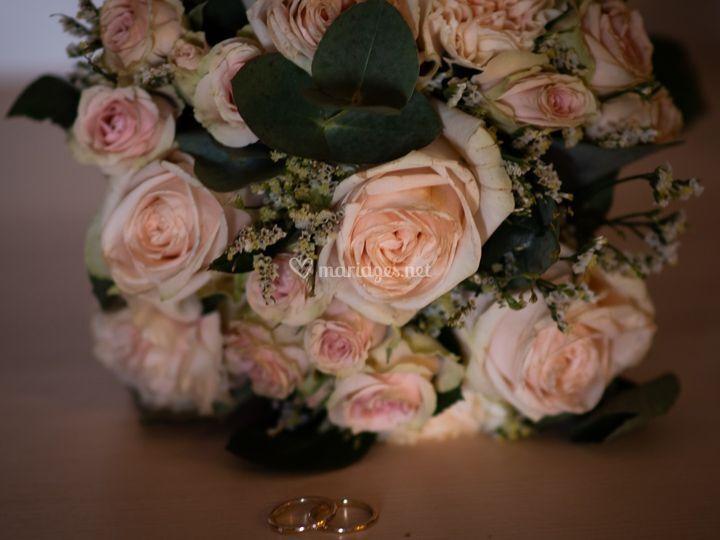 Bouquet et bague