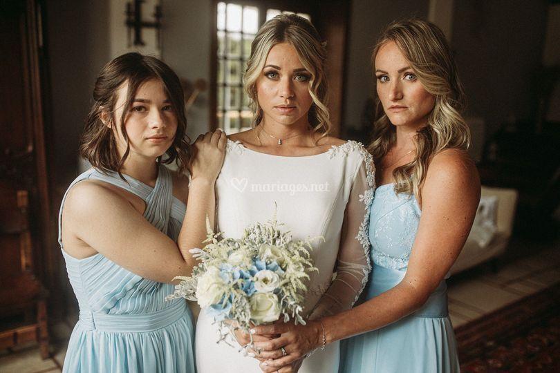 Maquillage mariée&bridesmaids