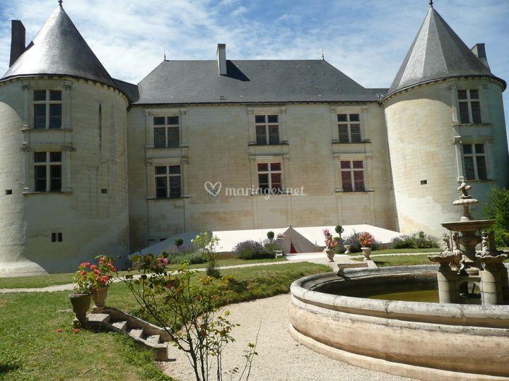 Façade Château Couvert