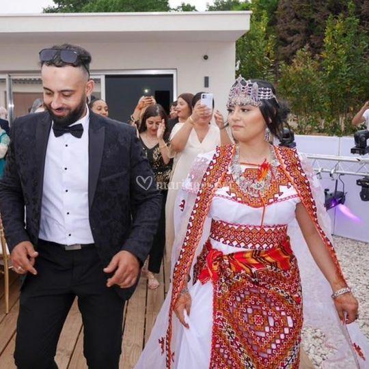 Magnifique  mariés