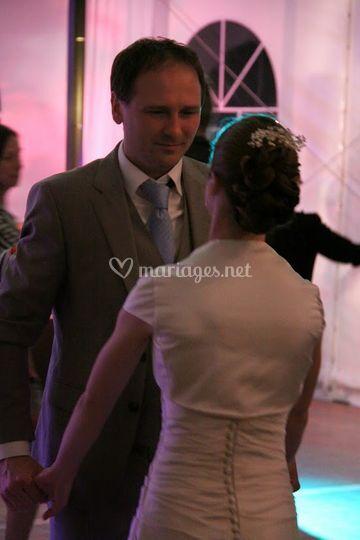 Première danse des mariées