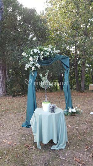 Arche et rituel de cérémonie