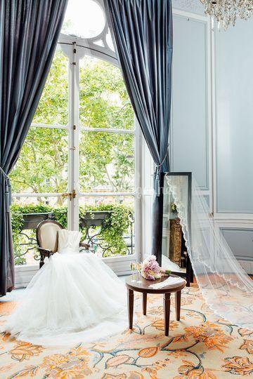 Boudoir de la mariée