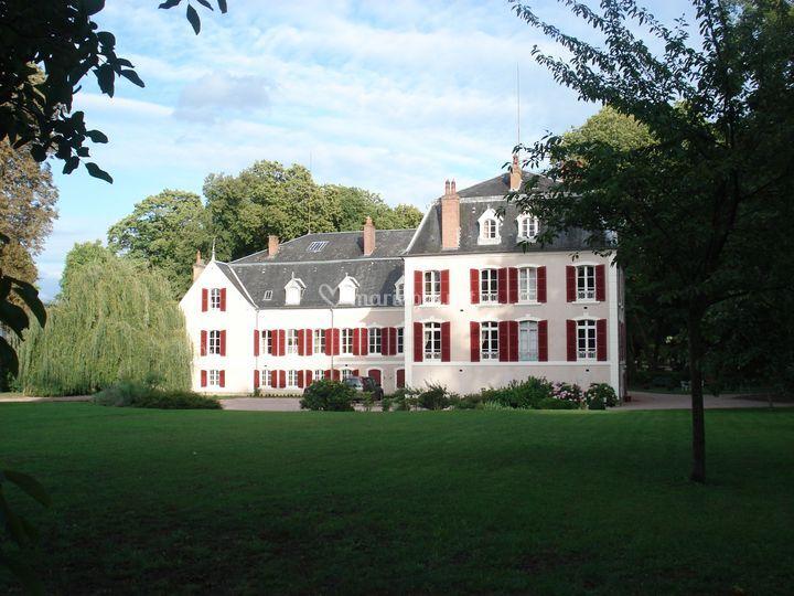 Chateau côté Jardin