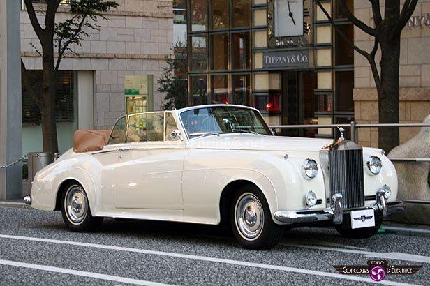 Rolls corniche cabriolet 1956