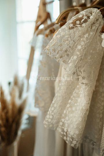 Détails robes de mariée