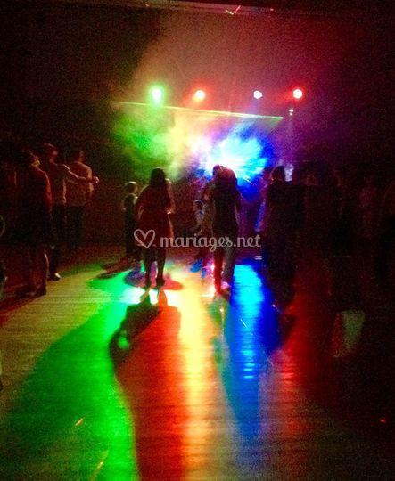 Lumières soirée dansante