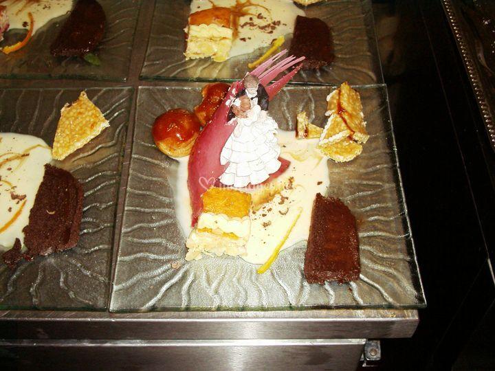 Dessert des mariés