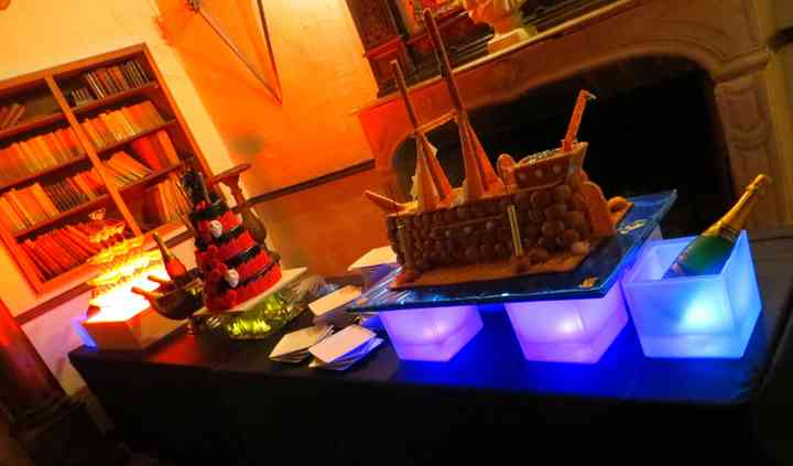 Buffet de dessert thème Pirate