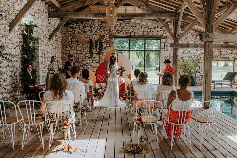 Mariage Dolce Vita en Dordogne