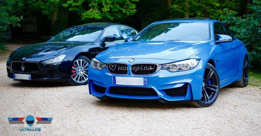 Pack Maserati + BMW M4