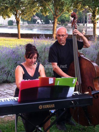 Duo jazz vin d'honneur