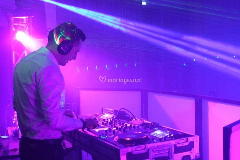 DJ en Action