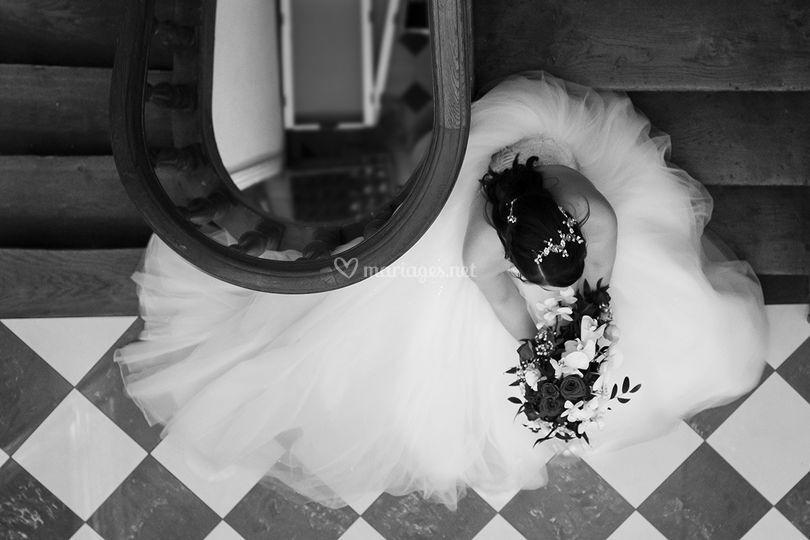 La mariée attends son prince