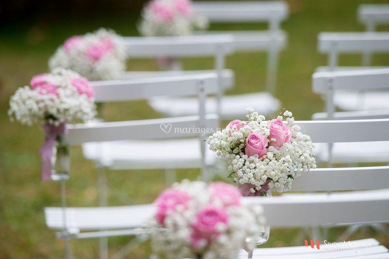 Décors de chaises cérémonie