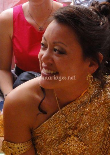 Mariée cambodgienne