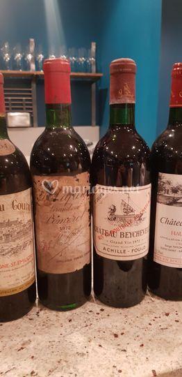 Vieux millésimes Bordeaux