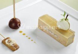 Préssé de foie gras