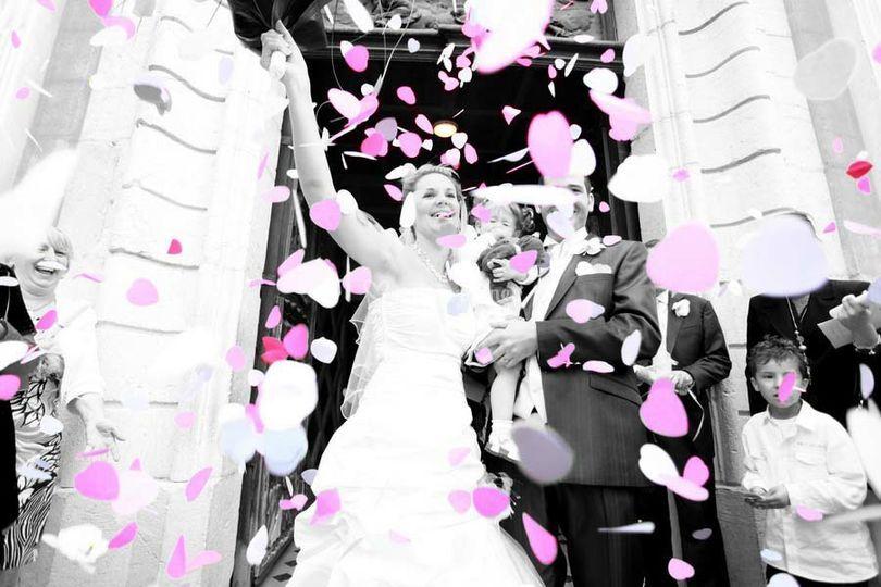 Photo artistique mariage