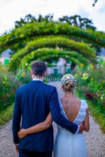 Mariage 2020 Giverny / Jardin