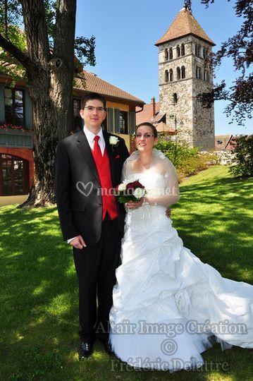 Altaïr Image Création, portrait des mariés