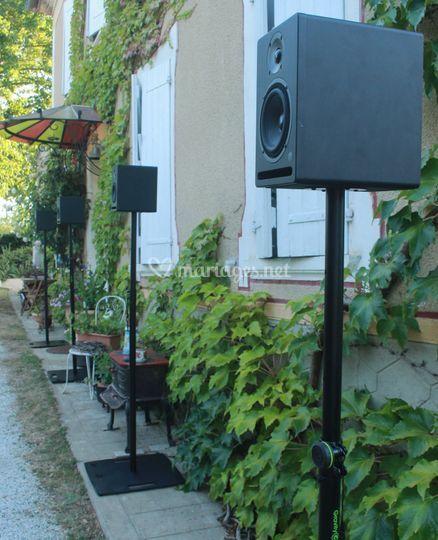 Sonorisation d'un jardin