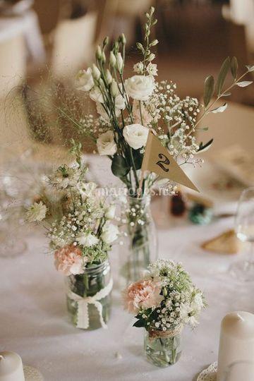 Décoration table mariage 2018