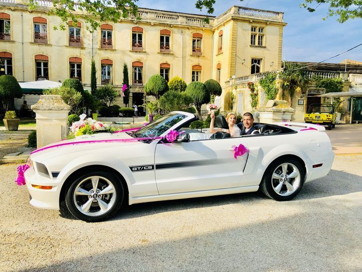 Location mustang mariage 13
