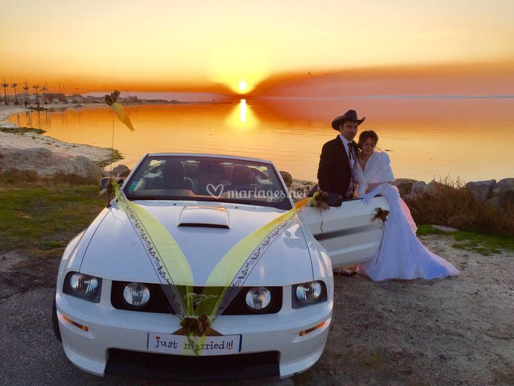 Location mustang mariage BDR